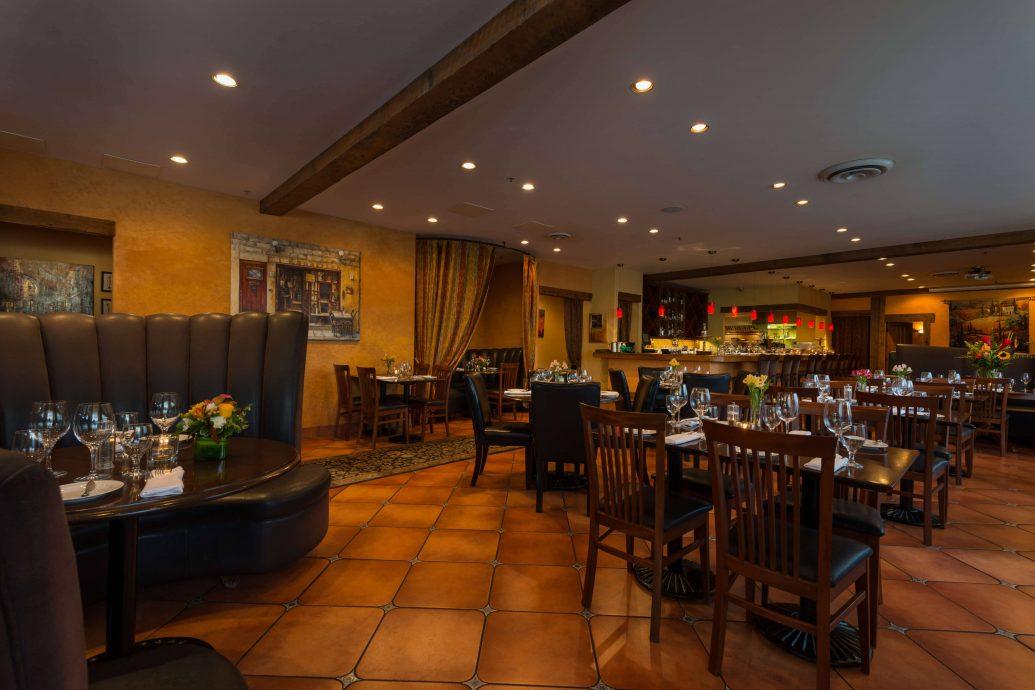 Illuminaté Restorante main room